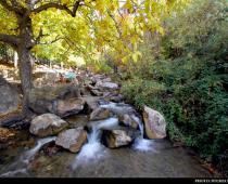 برنگ پاییز در همدان