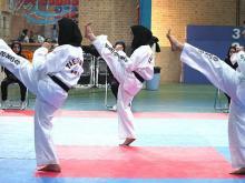 نتایج  مسابقات انتخابی تکواندو بانوان استان همدان