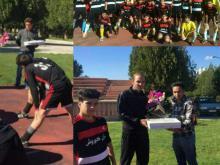 تربیت یار قرآنی درتیم فوتبال یاران کوروش