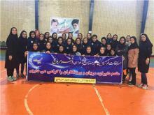 قهرمانی همدان در دور رفت مسابقات فوتسال بانوان استان