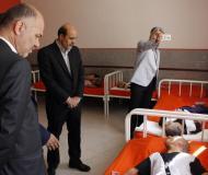 بازدید از آسایشگاه خیریه حضرت ابوالفضل(ع) بمناسبت هفته تربیت بدنی  و  پارالمپیک در همدان