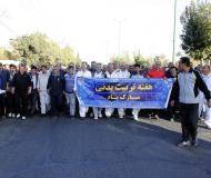 ورزش صبحگاهی کشور در استان همدان