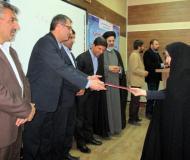 مراسم تجلیل از فعالین قرآنی و خادمان نماز / گزارش تصویری
