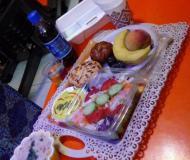 مراسم افطاری باشگاه روژان در ماه مبارک رمضان